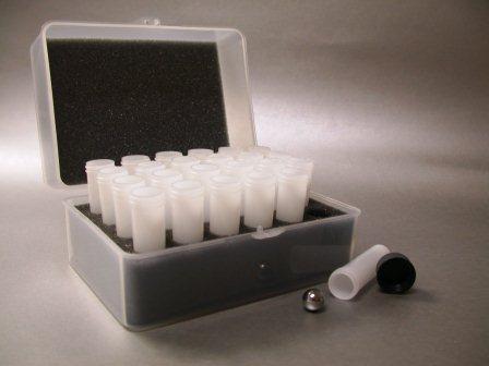 Polyethylene vial set